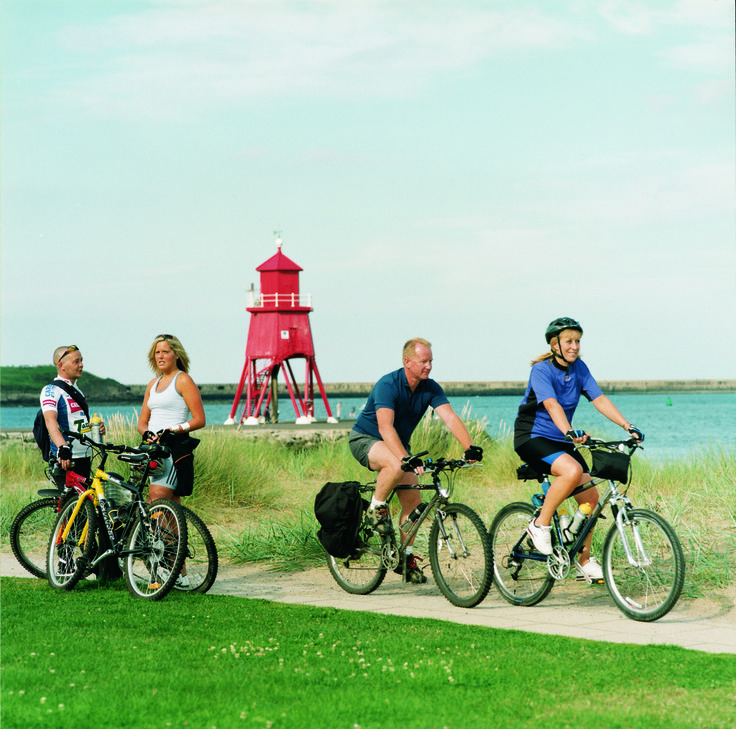 Walk or Cycle the South Tyneside Heritage Trail. Choose between any of the smaller routes that make up the 26 mile trail around the borough.  The trail is designed to help people explore South Tyneside's incredibly rich and diverse heritage.
