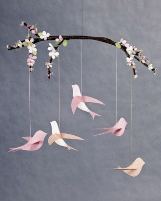 "See the ""Bird Mobile"" in our Handmade Baby Gifts gallery"