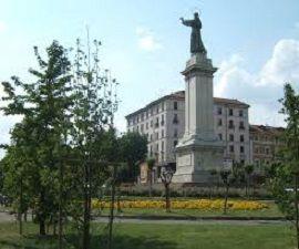 """La Milàn de 'na ôlta: El """"ghisa"""" de piazza Risorgiment - labissa.com"""