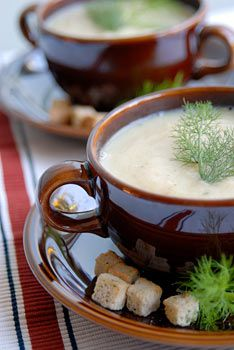 Gourmet Fennel & Celery Soup