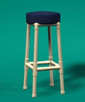 How to build pvc bar stools woodworking projects plans for Pvc furniture plans