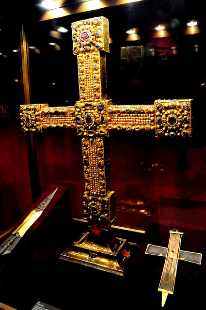 Spear of Destiny (Holy Lance) at Austrian Imperial Treasury.