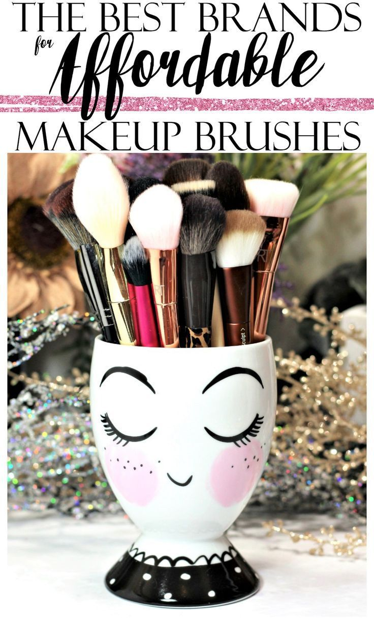 The best drugstore brands for affordable makeup brushes and tools!