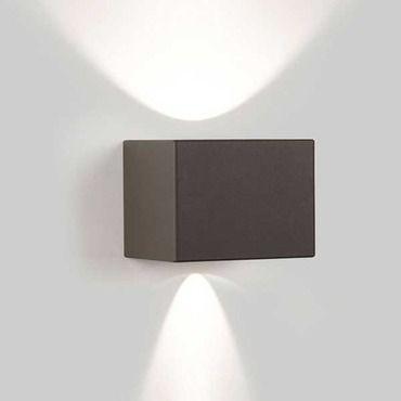 Tiga LED Outdoor Wall Wide/Narrow   DeltaLight at Lightology