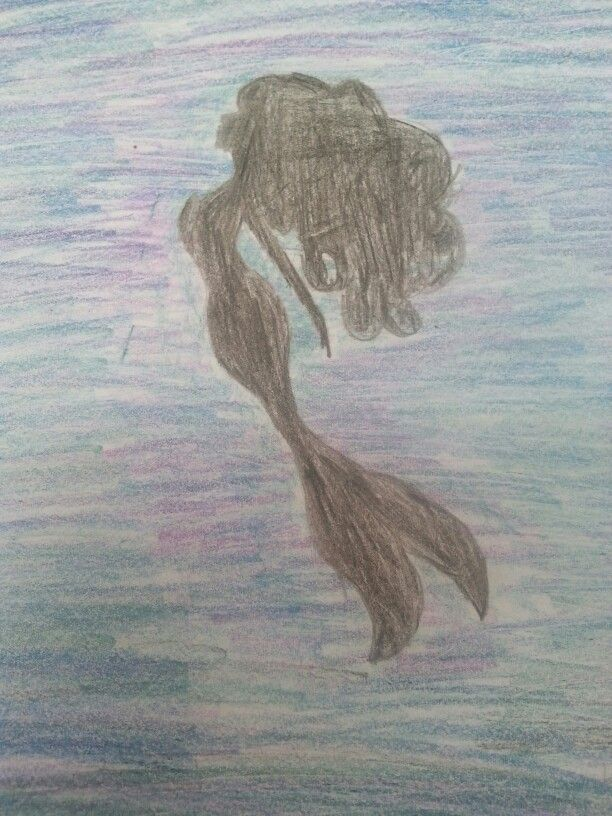 Mermaid drawing i did today