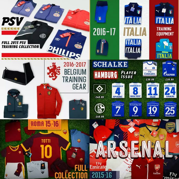 Find your Favorite Classic Football Shirt & Last Season Deals at Classic Football Shirts http://tidd.ly/2fc2d34b