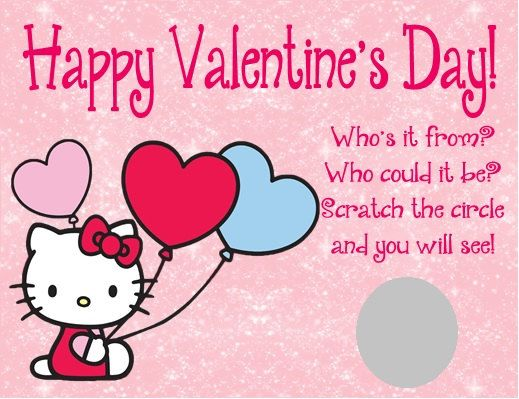 86 best Valentines Day images – Hello Kitty Valentine Cards