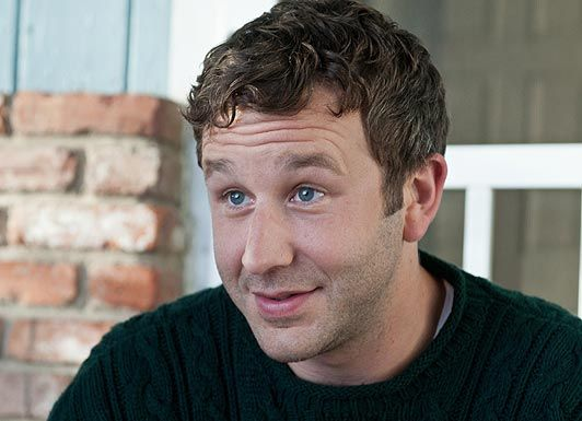 Chris O'Dowd. The sweet little Irish guy from Bridesmaids and The IT Crowd. I think he's positively adorable. :)