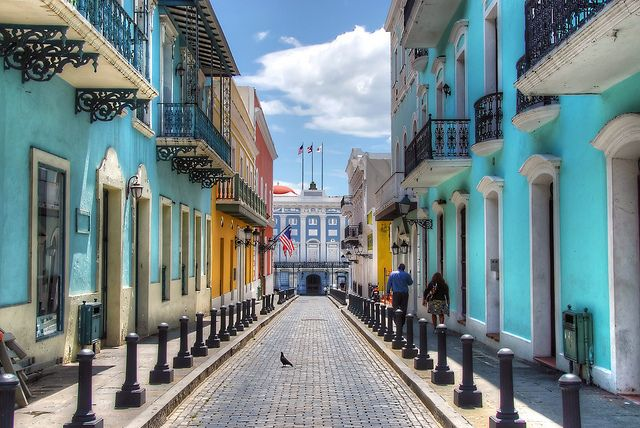 Old San Juan, Puerto Rico--okay for a nite or two for a layover