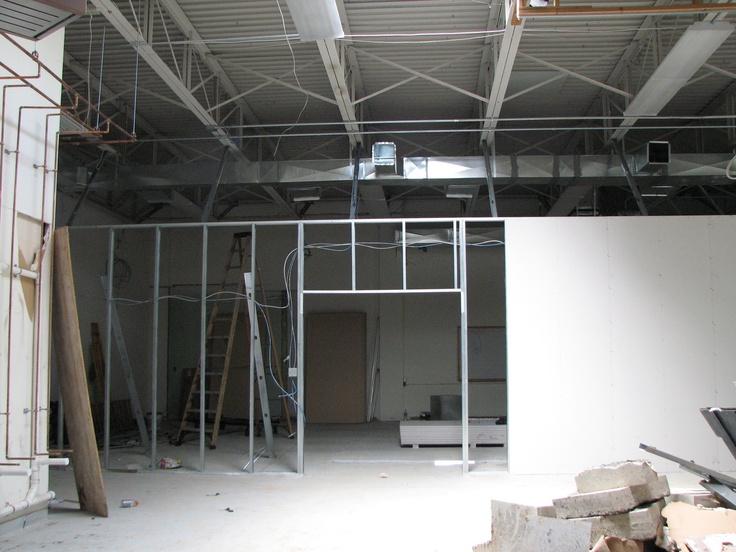 Work in progress at the Madison Annex!