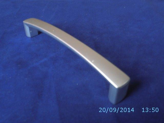Uchwyt meblowy 1.250 L-128 Chrom Matowy ,Aluminium