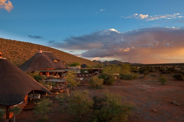 Tswalu's 'The Motse' is a private villa set within the heart of the 'green' Kalahari within the biggest private wildlife sanctuary in Africa (100 000ha) that teems with wildlife sightings that are 'unusual' - pangolin, aardvark, massive black maned lions, roan and sable antelope. With wrap around views of endless wilderness, this is a lodge that is brimful of ambiance.