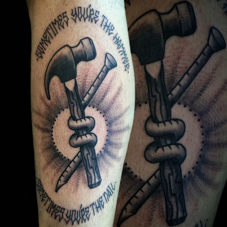 25 best ideas about hammer tattoo on pinterest tool tattoo school icon and traditional tattoos. Black Bedroom Furniture Sets. Home Design Ideas