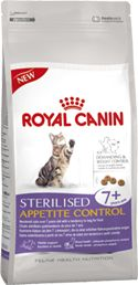 Kissa - Royal Canin Sterilised Appetite Control 7+ kissanraksut