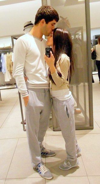 Couple matching outfits