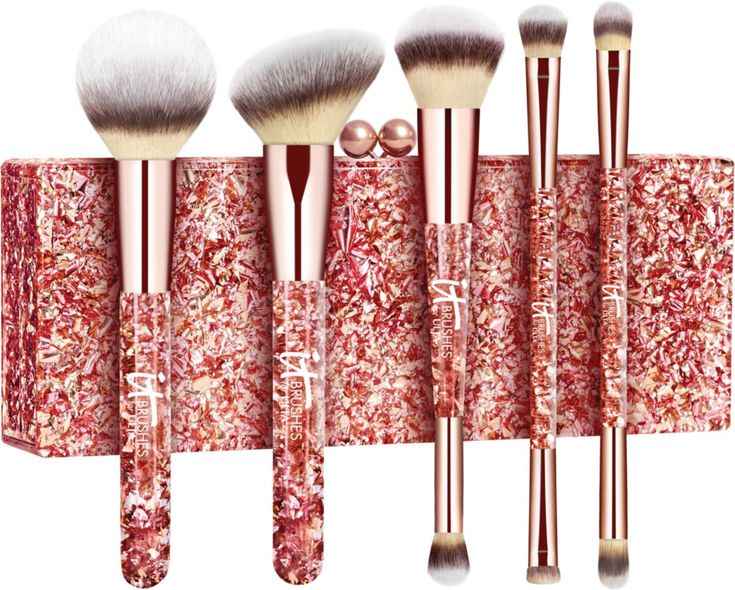 IT Brushes for ULTA Your Glam MustHaves 5 Pc Brush Set