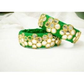 Bangle kadha pair made of silk-07