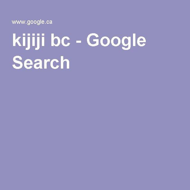 kijiji bc - Google Search