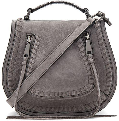 Rebecca Minkoff Small Vanity Saddle Bag  #sponsored