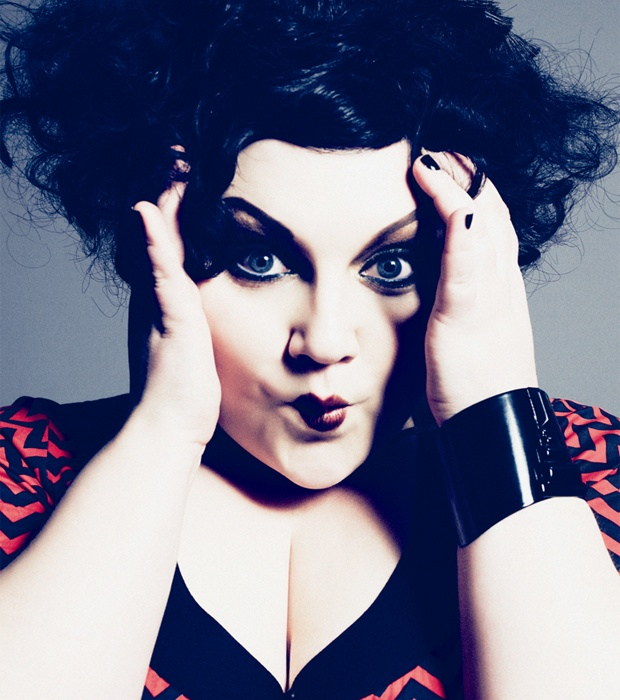 Gossip's Beth Ditto. I effing love this woman