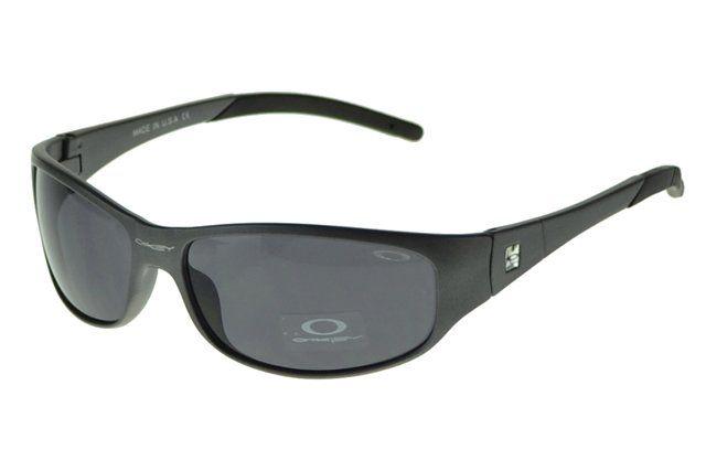 Wholesale Replica Oakley Antix Sunglasses Black Frame Gray Lens 1049#Oakley Sunglasses