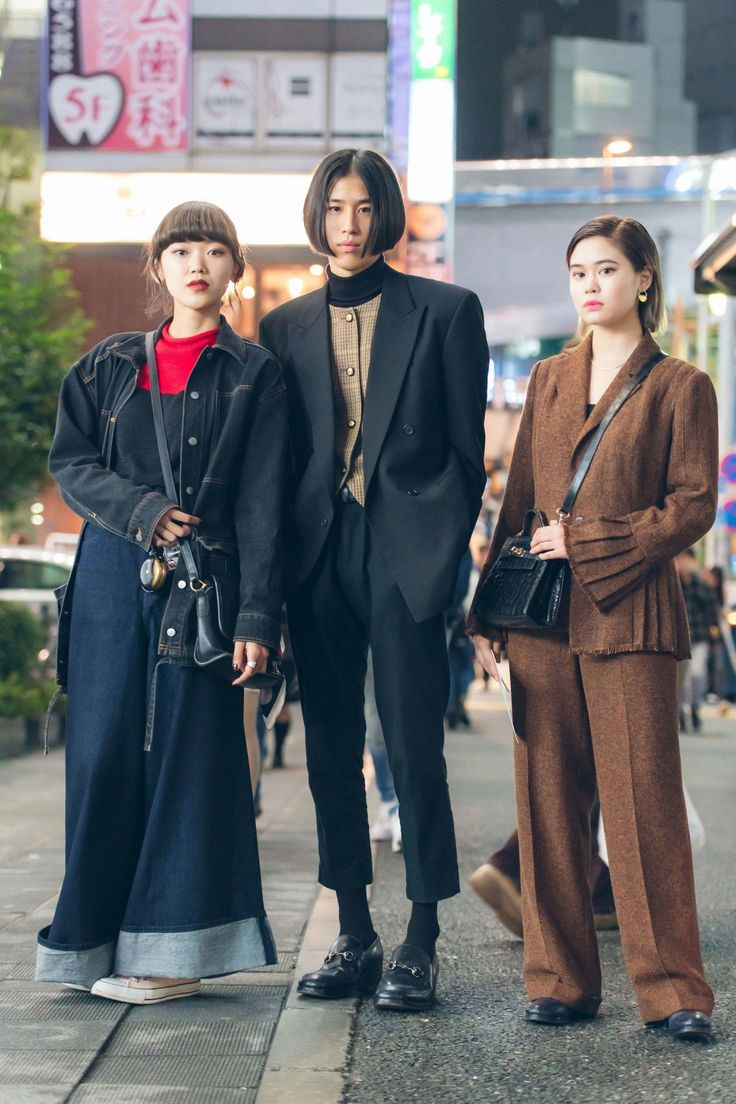 The Best Street Style From Tokyo Fashion Week Spring '18 #bestkoreanfashion