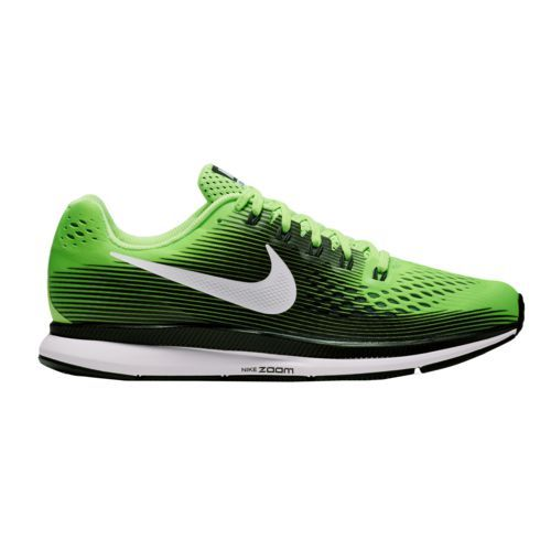 Nike Men 's Air Zoom Pegasus 34 Running Shoes (Ghost Green/White/Black/Cool Grey, Size 8) - Men's Running Shoes at Academy Sports