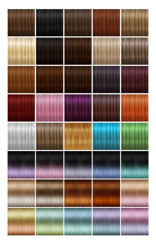Jenni Sims: NewTextures for retextured hair sims 4 (87 colors) • Sims 4 Downloads