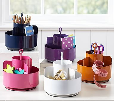 Pottery Barn Kids Desk Accessories Help Keep Supplies Handy And Tidy Find Get Ready For Back To School Season