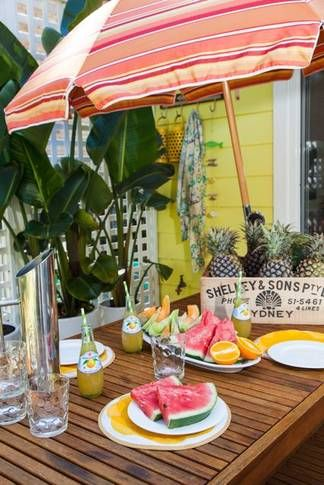 Summer snacks @ The Retro Beach House | Pearl Beach, NSW | Accommodation