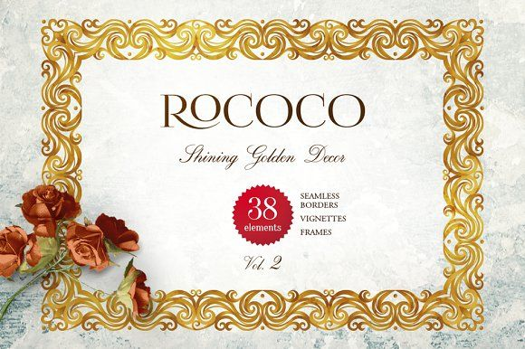 Rococo. Vol. 2 by O'Gold! on @creativemarket