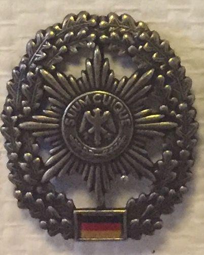 German Military Police, beret badge