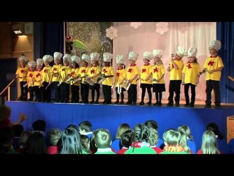 Leal Elementary School Christmas Program 2009 Kindergarten! - YouTube