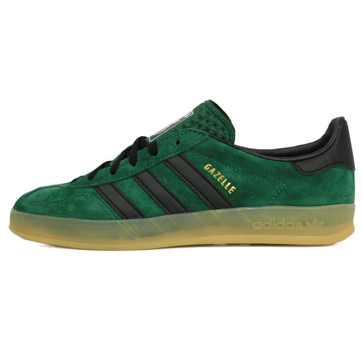 Adidas Originals Footwear Adidas Originals Dark Green Gazelle Indoor Shoes  G63198