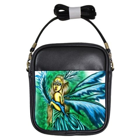 Something Exotic & Intriguing II Girls Sling Bag via ArtsNow.com