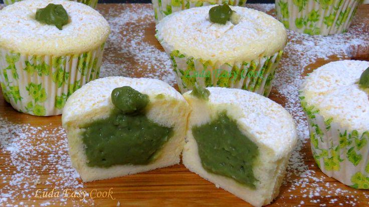 #MachaCheesecakeMuffins Làm Cupcake phô mai kem Trà xanh cupcake phô mai...