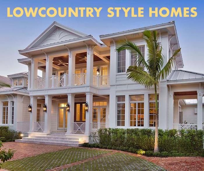 Lowcountry Architecture Simple Functional And Elegant Coastal House Plans Country Style House Plans Southern House Plans