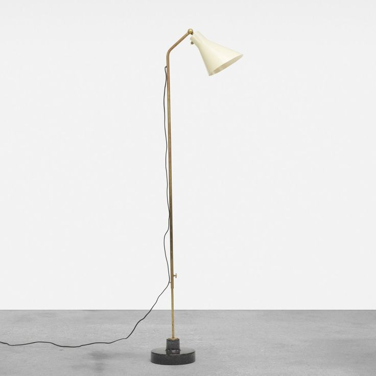 Ignazio gardella lte 3 adjustable floor lamp on