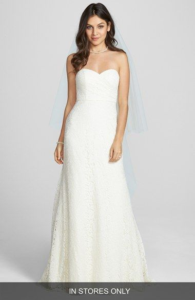 Jenny Yoo 'Clara' Floral Lace Trumpet Dress (In Stores ...
