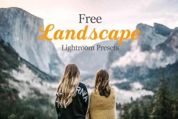 Free landscape lightroom presets