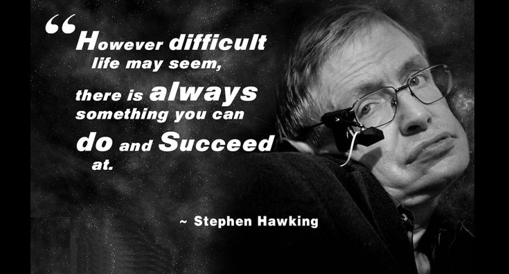 Stephen hawking quotes - business insider, When he was 21, stephen hawking learned he had motor neurone disease. Description from asalilmu.com. I searched for this on bing.com/images