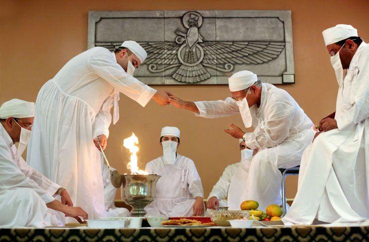 Zoroastrian Symbol Supernatural Zoroastrian pri...