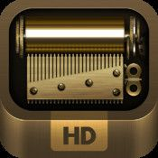 iOrgel HD  By allm    iORGEL HD IS NOW THE #1 MUSIC APP IN THE APP STORE (US) AS WELL AS APPLE STAFF'S FAVORITE!     HEAVENLY JOY IN A SMALL MUSIC BOX   Bring back a special moment of your life with iORGEL HD! iORGEL HD is a digitally-reinvented music box for iPads. Simply wind up the key and enjoy the beautiful songs. You can also create a new song and share it with the rest of the world. Own your small, personal music box t