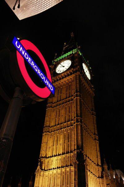 'Big Ben - London' von stephiii bei artflakes.com als Poster oder Kunstdruck $15.68