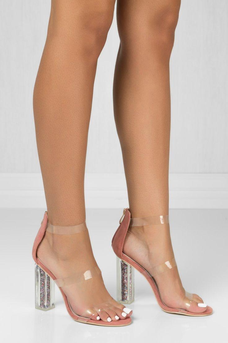 how to clean glitter high heels