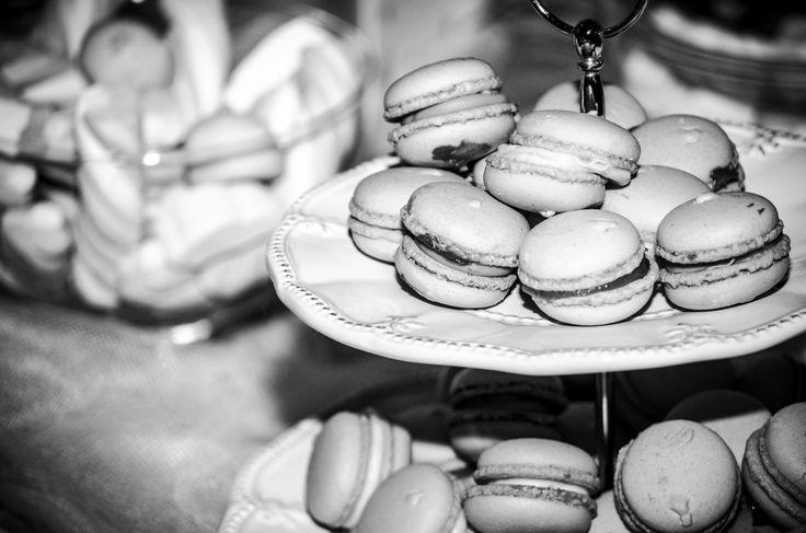 Christening reception - candy bar