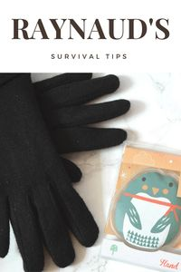 Struggling with Raynaud's phenomenon? Check out my Raynaud's survival tips for getting through the winter months with minimal disruption to you lifestyle!