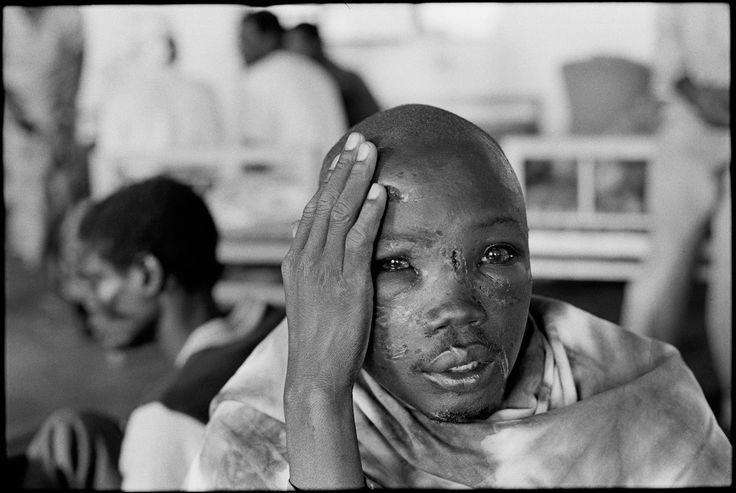 RWANDA. Kabgayi. 1994. Hospital near a concentration camp.