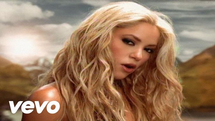 Shakira - Whenever, Wherever, This is when I actually enjoyed Shakira's music in English.