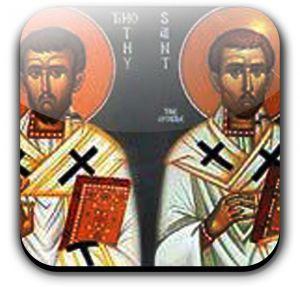 Saints  Timothy & Titus